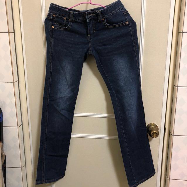 微刷白牛仔褲#兩百元丹寧