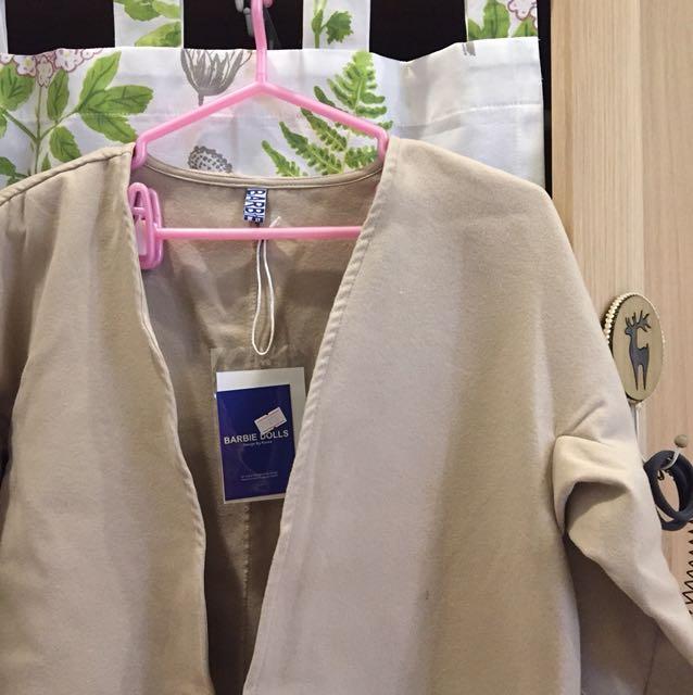 韓版大衣毛呢外套