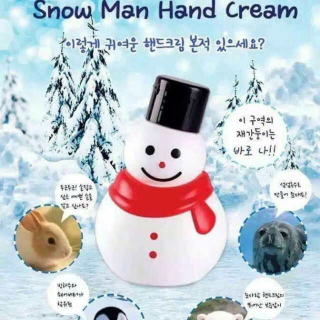 小雪人護手霜