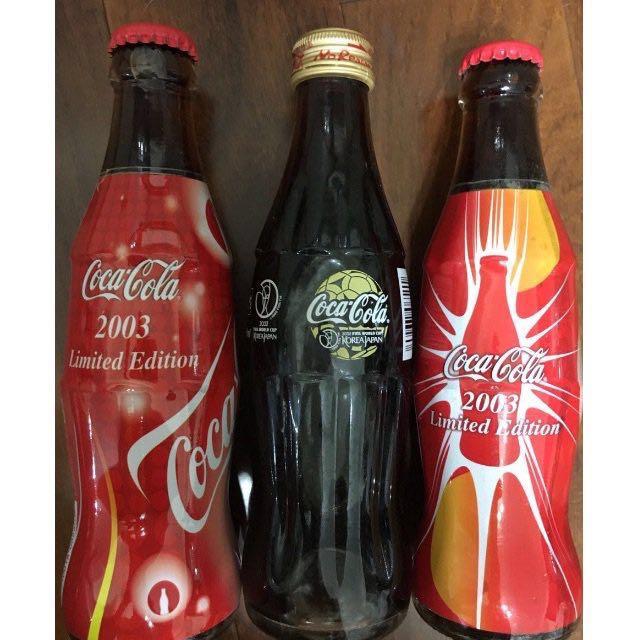 可口可樂 收藏 2002日韓世界盃紀念品、2003年限量版