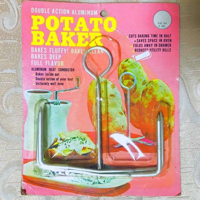 (全新)馬鈴薯🥔烤架 美國購回