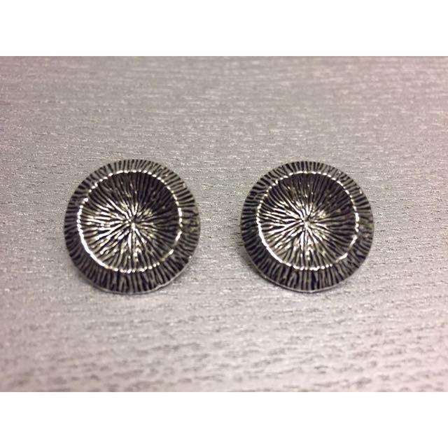 全新 幾何 前衛 簡約 歐美 造型耳環 金屬 鋼 耳環