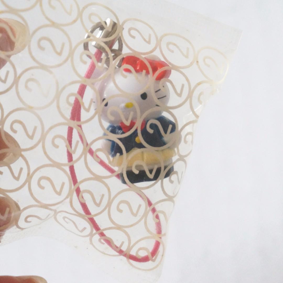 全新/ Hello Kitty & Daniel手機吊飾