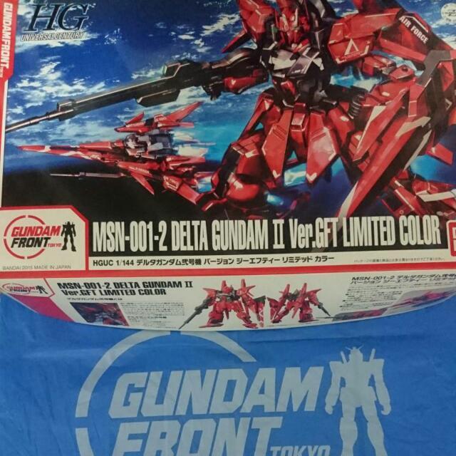 台場限定 MSN-001-2 Delta Gundam 2號機