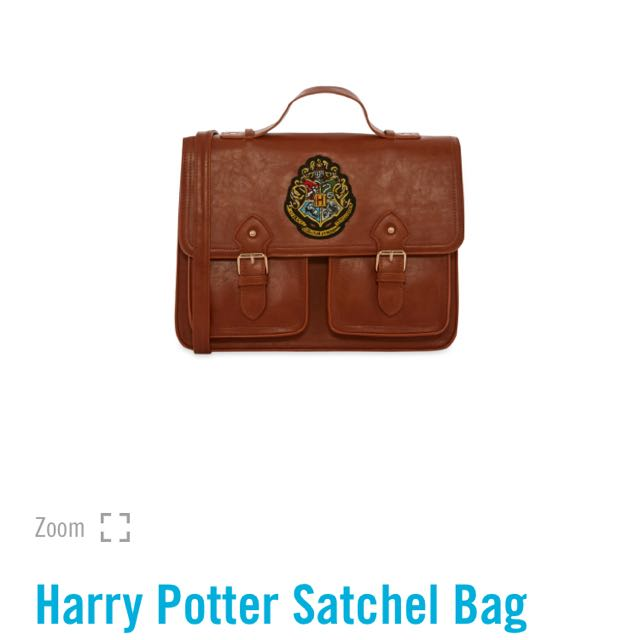 🌹 PRIMARK HARRY POTTER SATCHEL SLING BAG