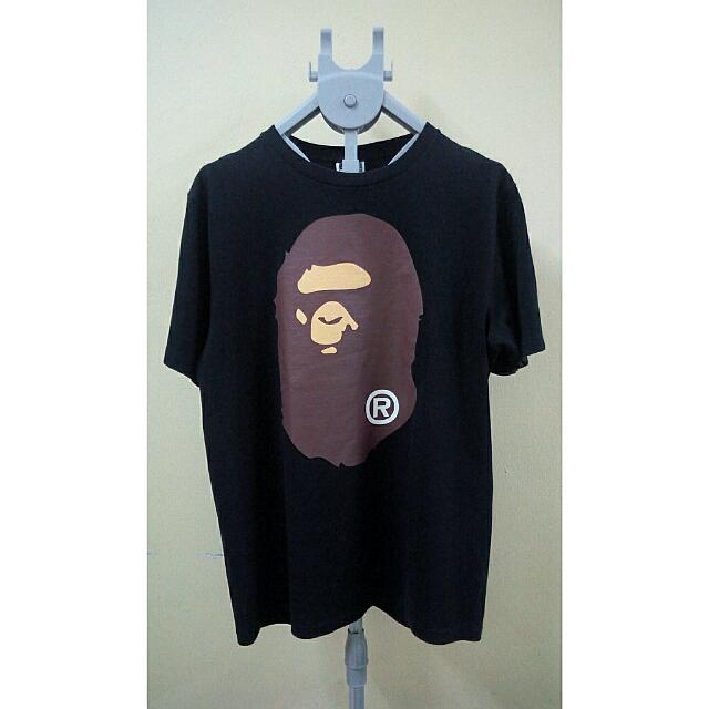 36402278 💯A Bathing Ape . Bape Original T-Shirt ® , L., Men's Fashion, Clothes,  Tops on Carousell