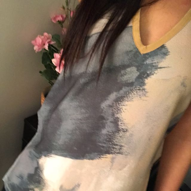 Abstract blouse from Zara