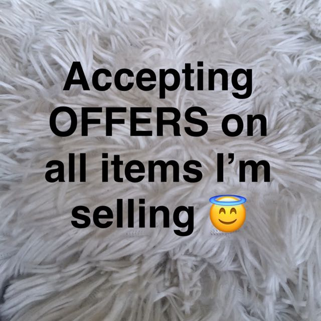 Accepting Offers ! Message me
