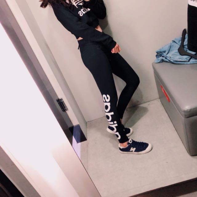 Adidas顯瘦緊身褲