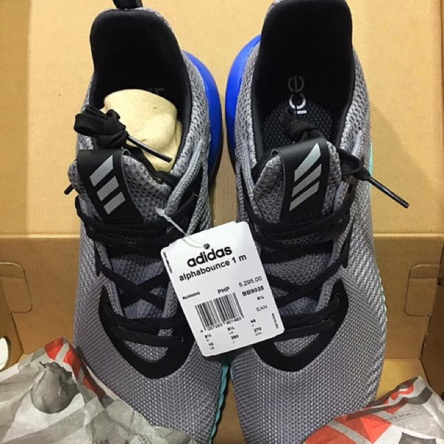 Adidas alphabounce m1, moda maschile, le calzature per carousell