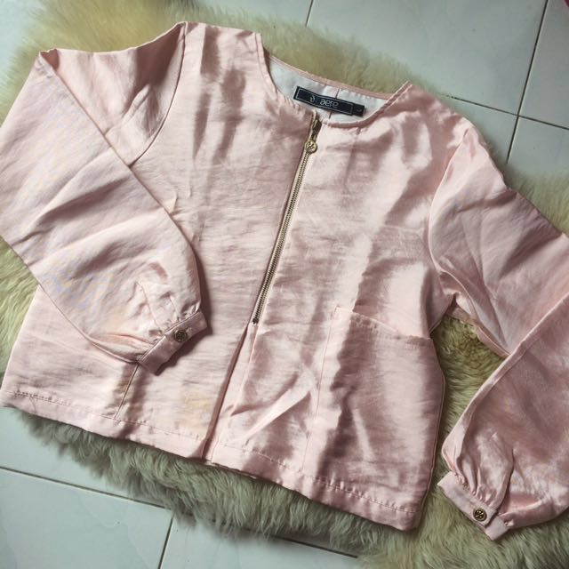 Aere Pink Top