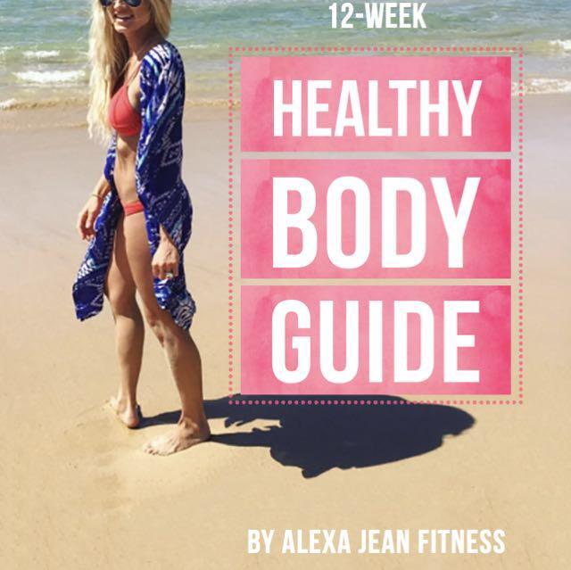 ALEXA JEAN 12 WEEK HEALTHY BODY GUIDE EBOOK