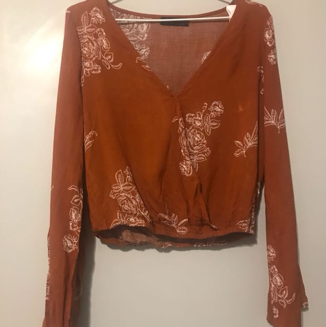 ally fashion Australia boho top size xs