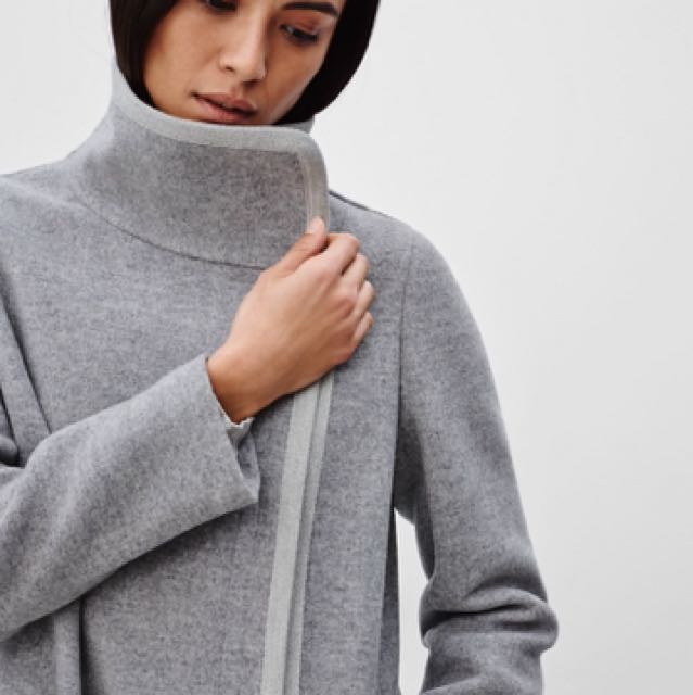 Aritzia Babaton Cormac Jacket Light Grey