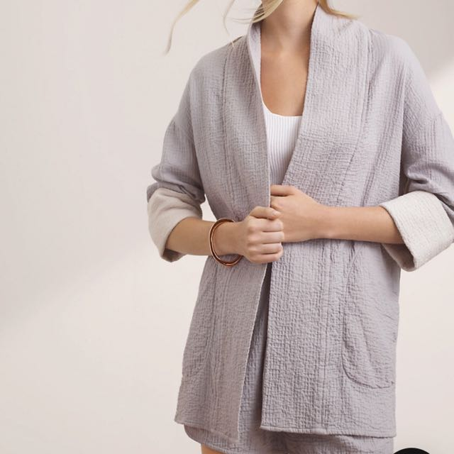 Aritzia Wilfred Quilted Jacket/Cardigan