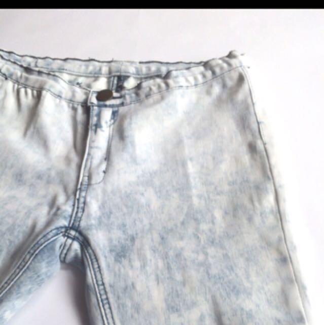Ash Grey Cotton Pants