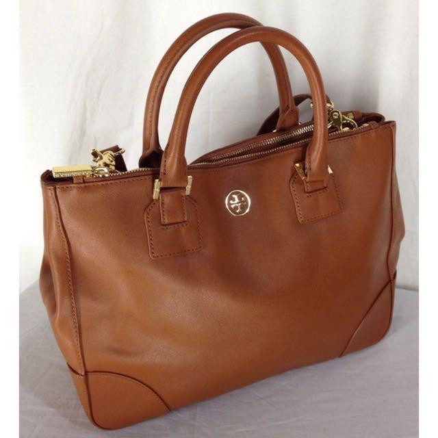 a23e9d6c00e Authentic 💥 Tory burch Robinson tote satchel