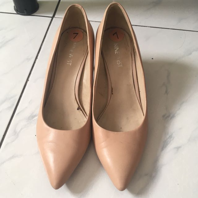 Authentic Nine West Pointed Heels Shoes