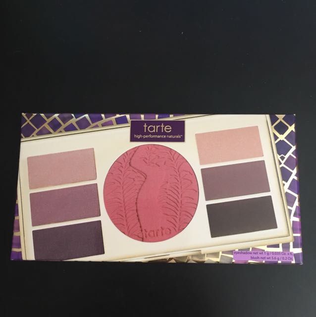 Authentic Tarte Eye and Cheek Palette