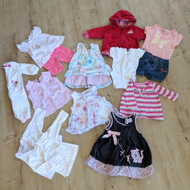 Baby Girls Clothes Bundle Size 000 - 0