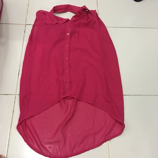 Baju pink kutung