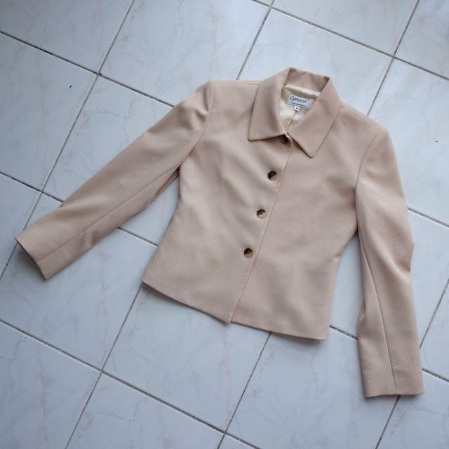 Beige jacket/blazer