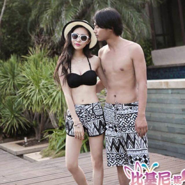 轉賣【Biki比基尼妮】黑白多件式泳衣比基尼#我有泳裝要賣
