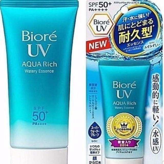 Biore Watery Essence Sunscreen SPF50++