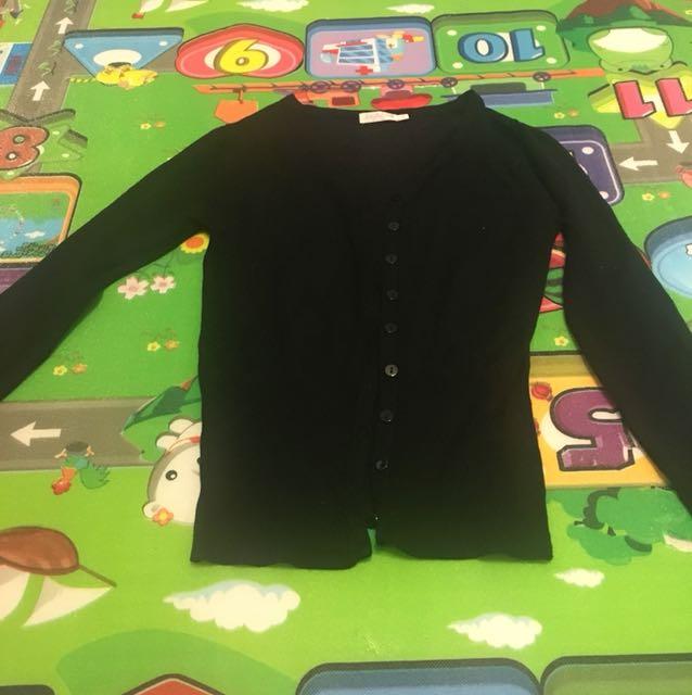 Black cardigan size S/M