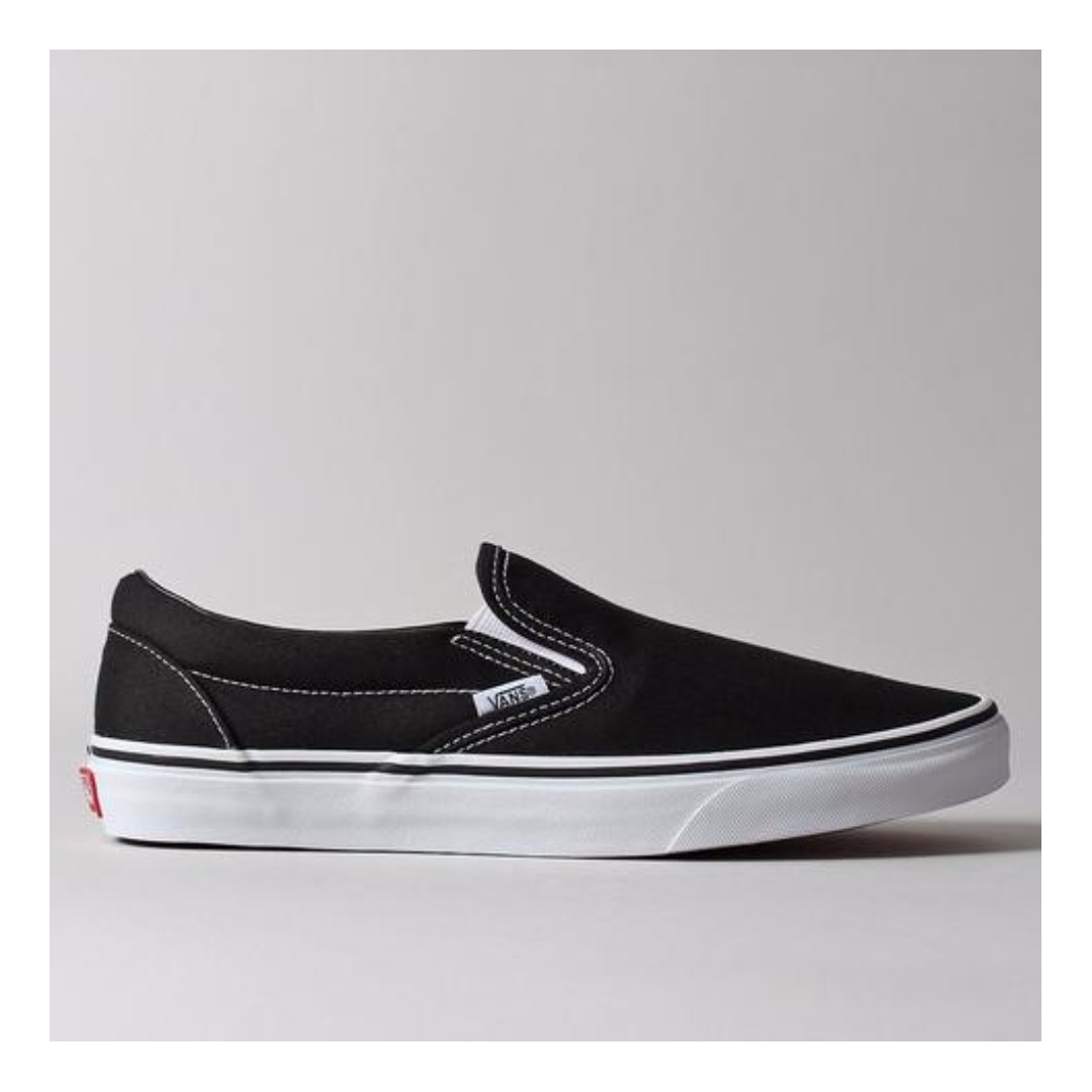 BLACK FRIDAY SALE!) VANS CLASSIC SLIP ON SHOES – BLACK on ...