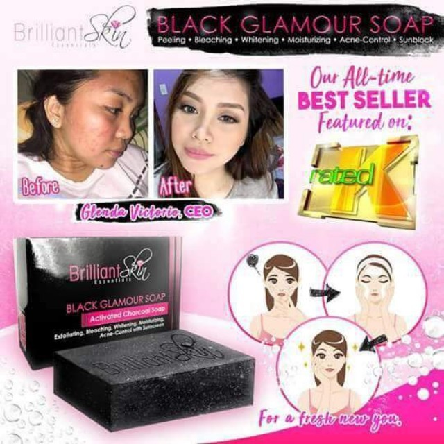 Black Glamour Soap