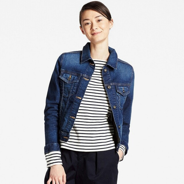 Blackfridaysale Uniqlo Womens Denim Jacket Xl Women S Fashion