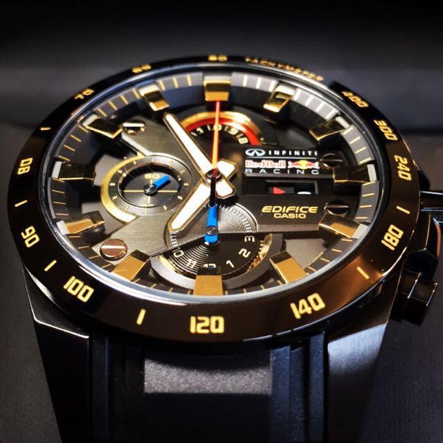 Brand New Casio Edifice Infiniti Limited Edition RedBull Watch (NEGOTIABLE)