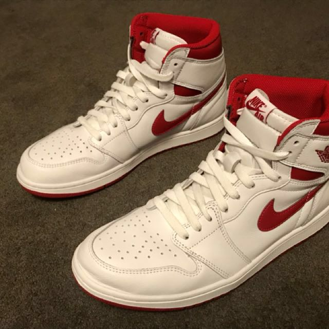 Brand new Jordan 1 Metallic Red US 10.5