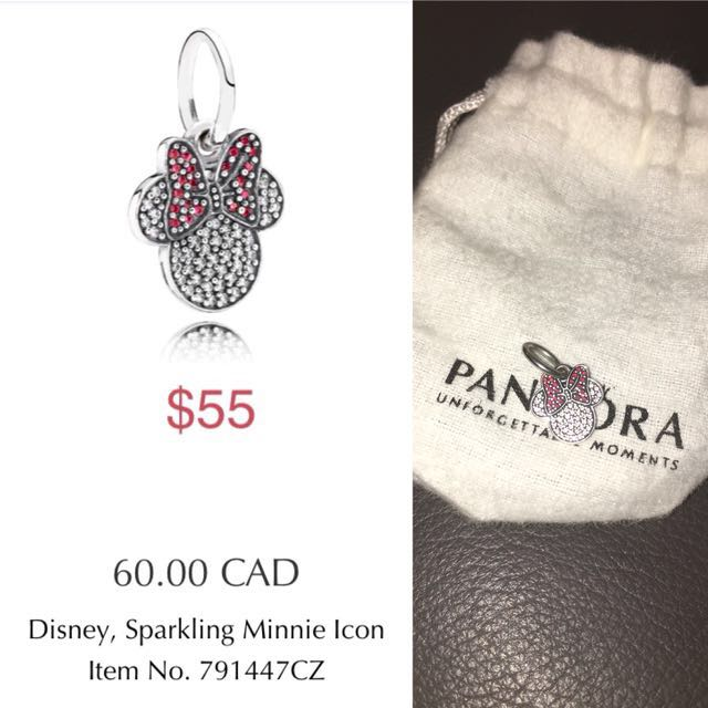 Brand new pandora Minnie Mouse