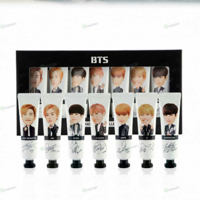 BTS Hand Cream Collection (Official Goods)