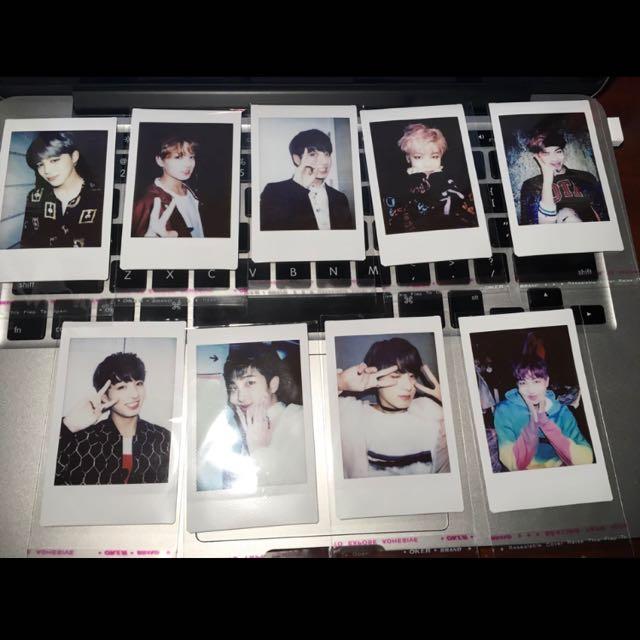 BTS Real Polaroid