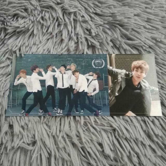 BTS Skool Luv Affair - Jin Photocard