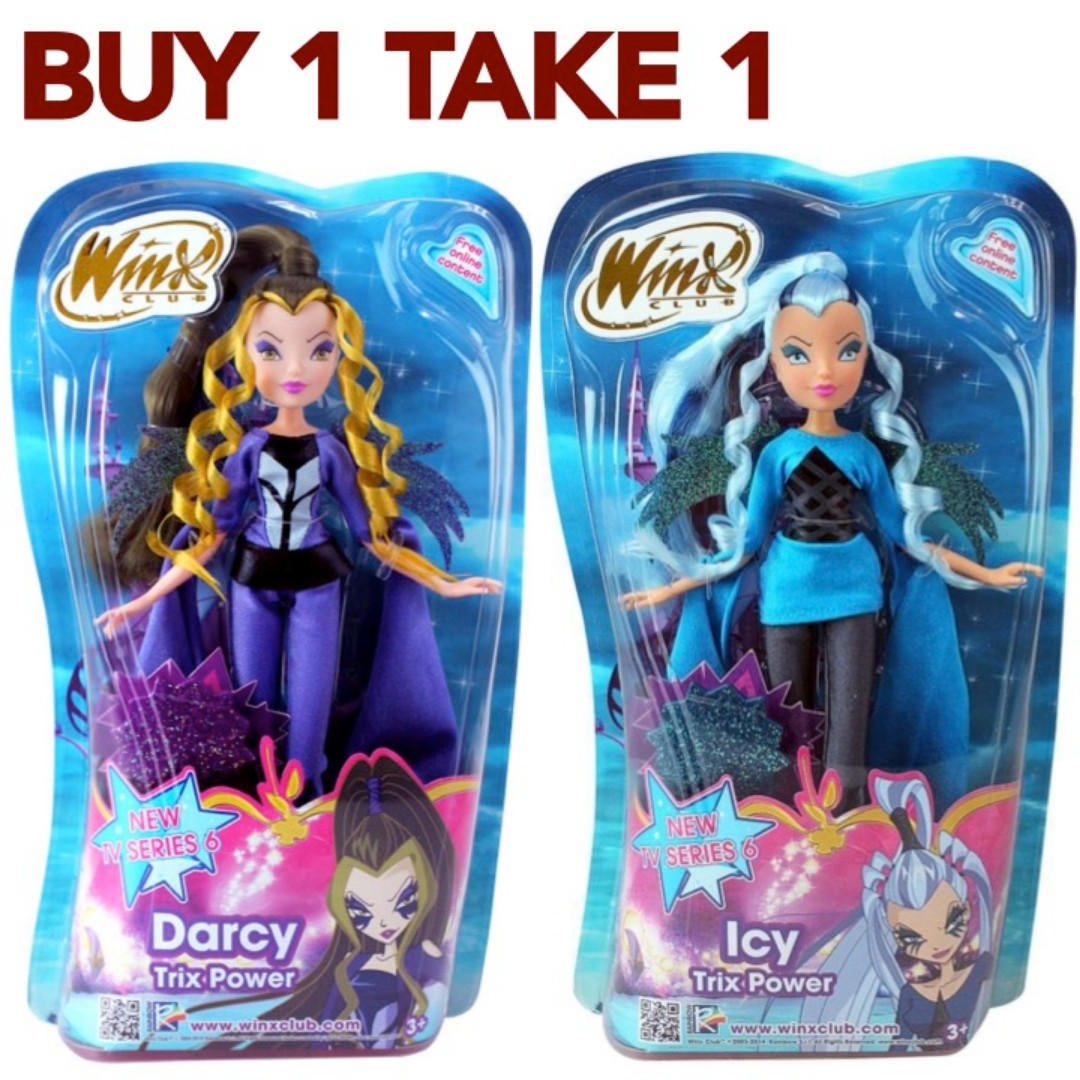 Buy1Take1 WINX Darcy & Icy (Authentic BNew w/Tag)