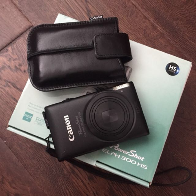 Canon Powershot ELPH 300HS