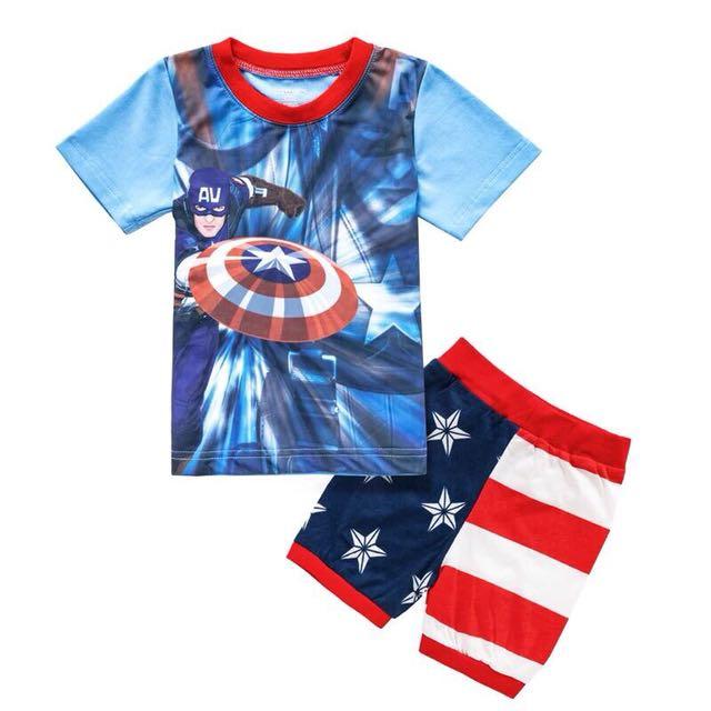Captain America Boy's set 130cm