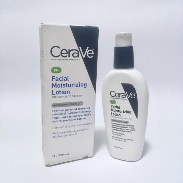 Cerave PM Facial Moizturizing Lotion