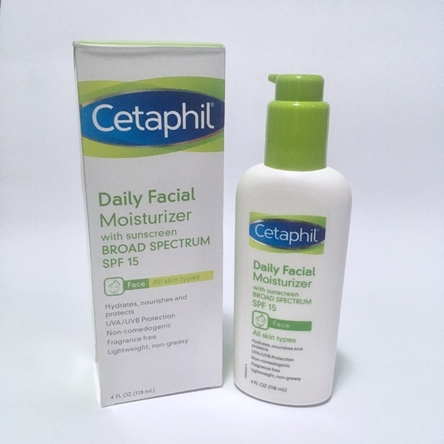 Cetaphil Daily Facial Moisturizer with Sunscreen BROAD SPECTRUM spf15