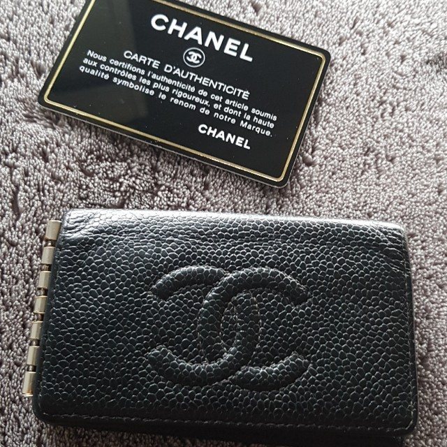 Authentic Chanel key wallet
