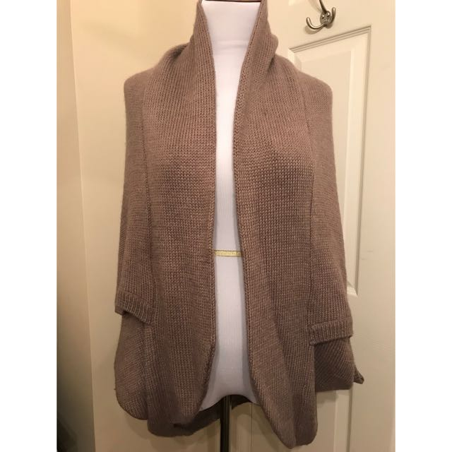 Cocoon style Cape/Sweater EUC XS (generous fit - up to S/M)
