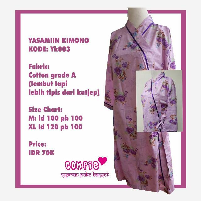Comfie Kimono Dress Rumah