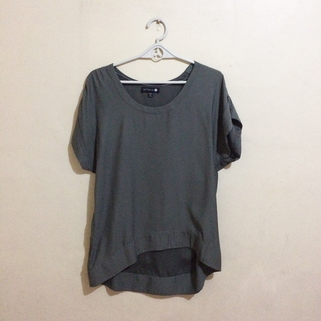 Cotton On High Low Blouse