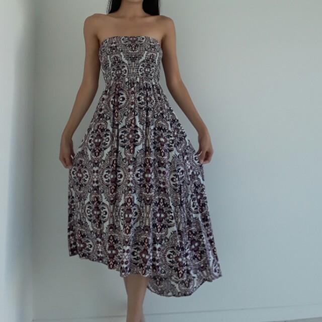 Cotton on Maxi tube dress