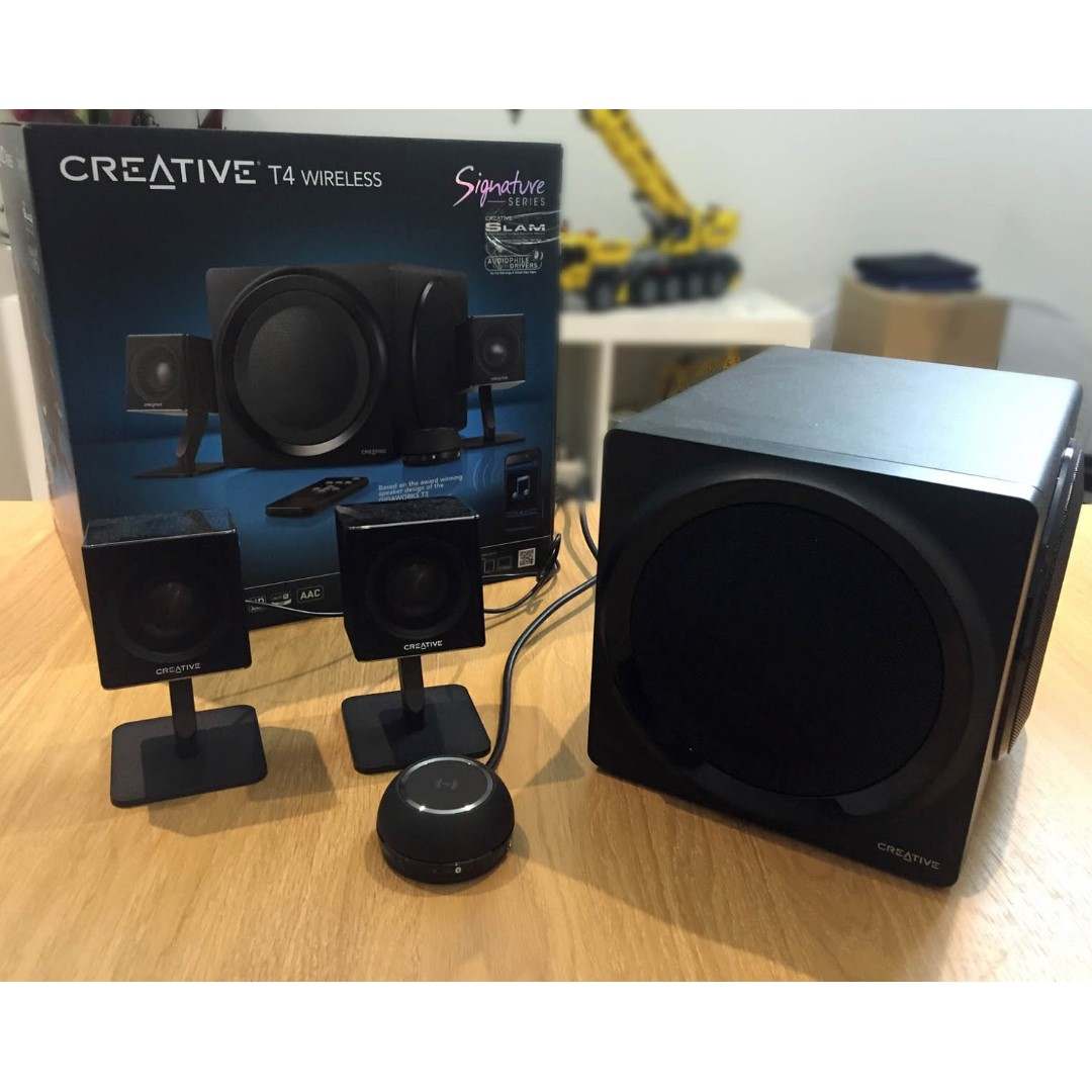 Creative T4 21 Wireless Speaker System With NFC