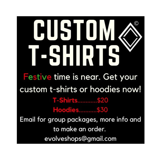 Custom T-shirts and Hoodies